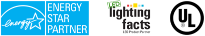 Energy Star Partner, LED Lighting Facts, UL